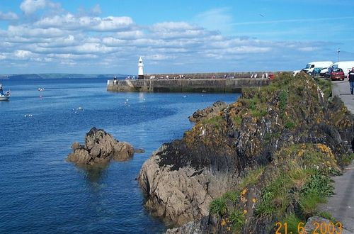 Lighthouse at Mevagissey, Cornwall
