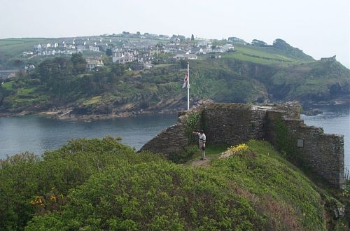 St. Catherine's Castle, Fowey, Cornwall