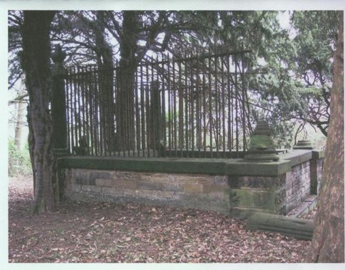 Robin Hoods Grave, Kirklees Priory, West Yorkshire