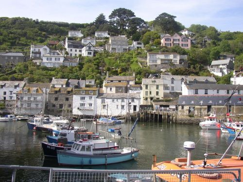 Polperro Harbour, Cornwall