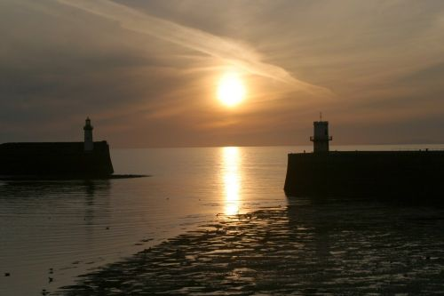 Lighthouses at Whitehaven, Cumbria