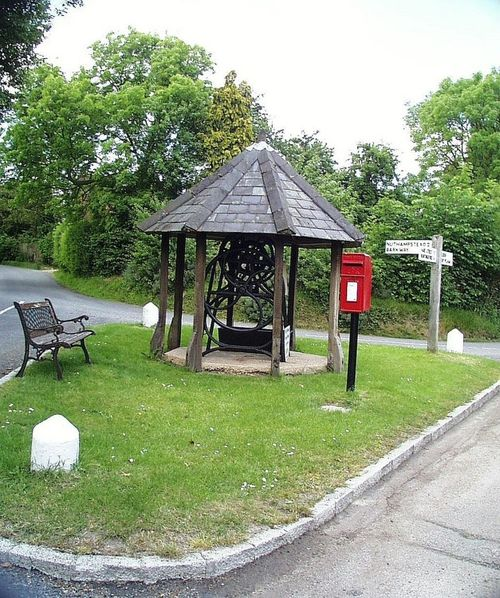 Local Village Well. Anstey, Hertfordshire