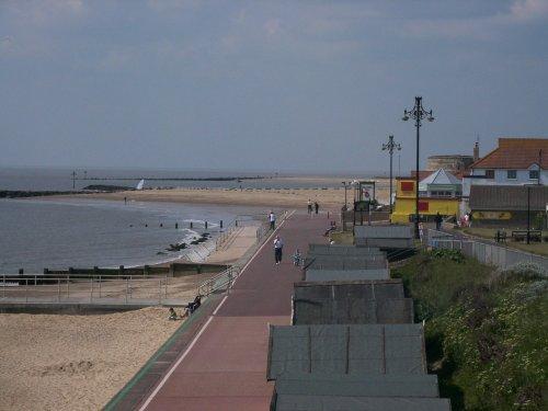 Clacton-on-Sea Beach, Essex.