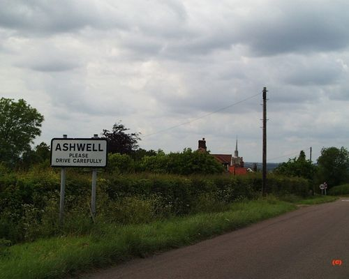 Entry into Ashwell, Hertfordshire