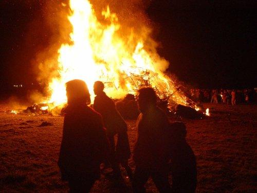 Annual Bonfire at Poynings