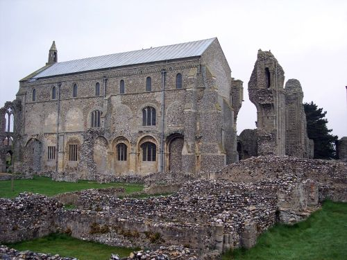 Binham Priory, Norfolk. April 2005