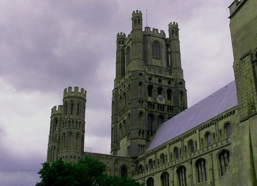 Ely Cathedral Under a Veil of Darkness, Ely