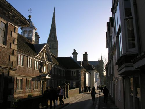 Salisbury, Wiltshire. January 2005
