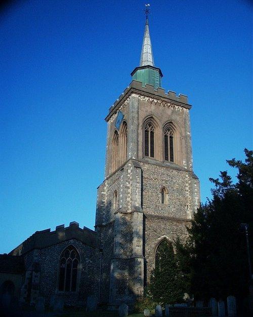 St Marys Church, Baldock, Hertfordshire