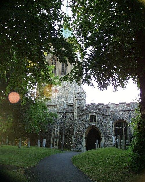 St Marys Parish Church, Baldock, Herts