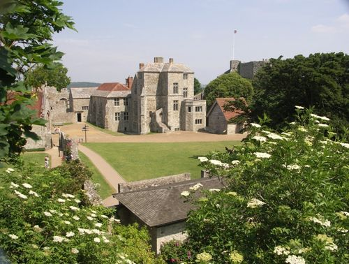 Carisbrooke Castle looking inwards