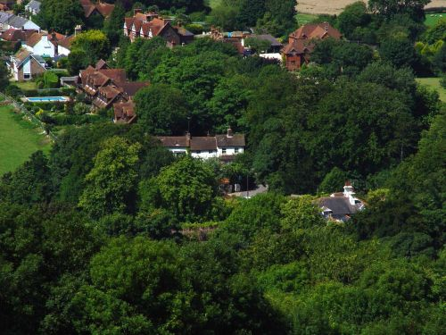 The Village of Poynings. West Sussex