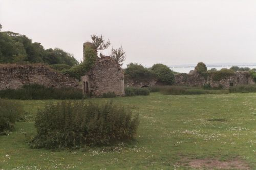 Quarr, Old Abbey ruins