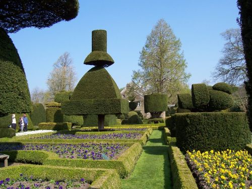 Levens Hall Garden, South Lakes