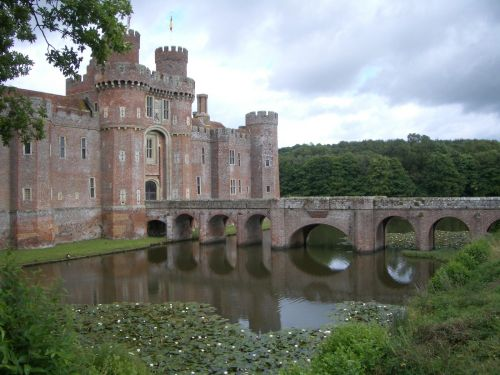 Herstmonceux Castle in East Sussex, converted into a university