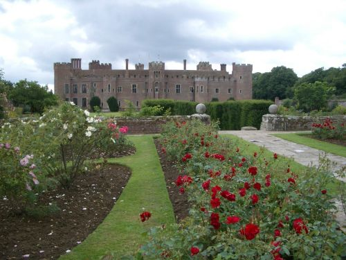 Herstmonceux Castle in East Sussex