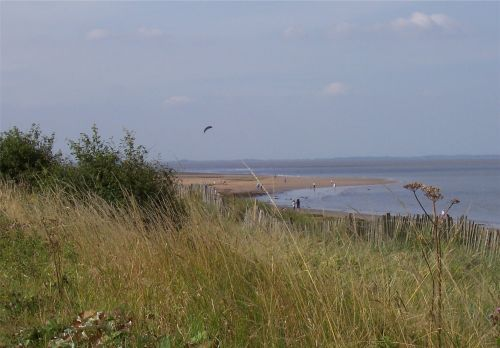Mouth of the RiverHumber near Cleethorpes, Lincolnshire