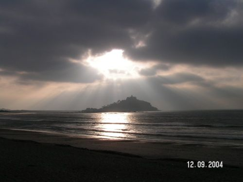 St. Michaels Mount, Cornwall, taken on a beautiful September morning
