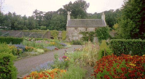 Garden at Cawdor Castle, Scotland