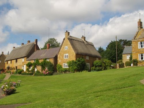 Cottages, Wroxton, Oxfordshire