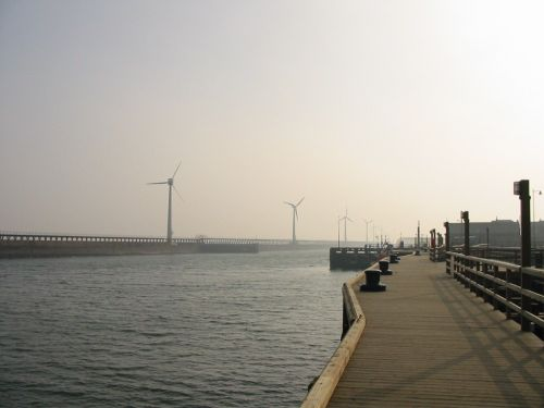 Photograph of Blyth Harbour, Northumberland
