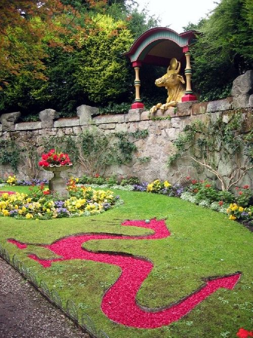 """Pictures Of Garden Pathways And Walkways: The Dragon Parterre"""" By Johanna"""
