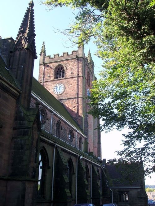 St Giles Church, Newcastle-under-Lyme, Staffordshire