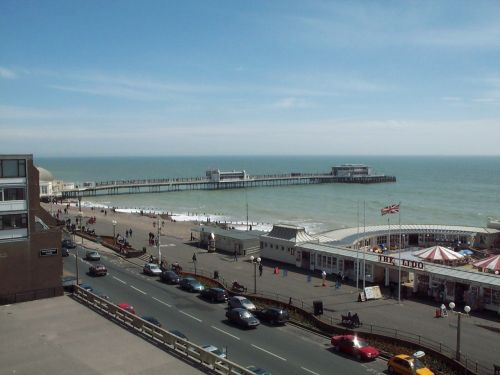 Worthing pier, West Sussex