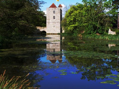 Michelham priory at near Upper Dicker in East - Sussex.