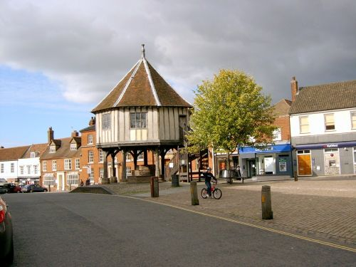 Wymondham Market Cross, Norfolk. Built About 1617-18