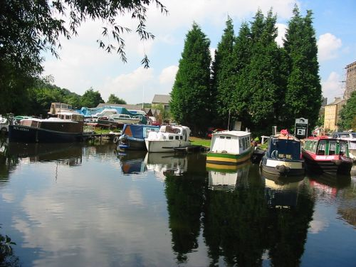 Sowerby bridge basin, West Yorkshire.