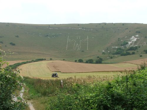 The Wilmington Long Man, East Sussex