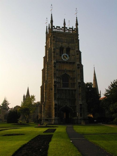 Evesham Abbey bell tower. Evesham, Worcestershire