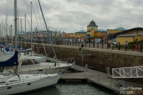 Fleetwood Outlet Village, Fleetwood in Lancashire.