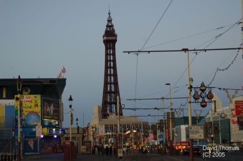 Picture of Blackpool Tower from over a mile away