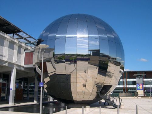 The At-Bristol planetarium. Bristol
