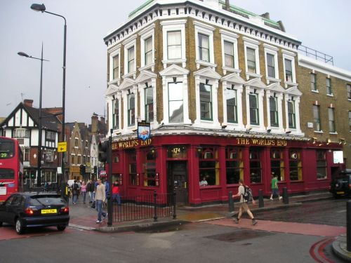 Pub in Camden Town, London