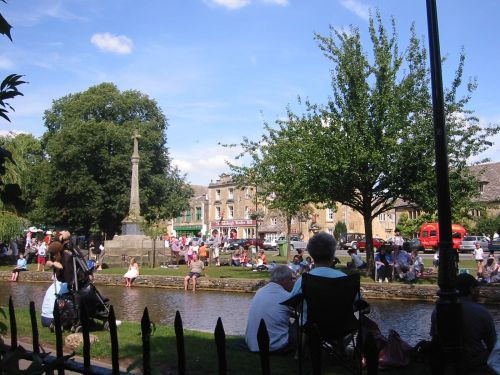 Bourton on the Water, in the Cotswolds