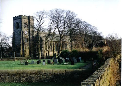 Holy Trinity Church, Hoghton, Lancashire