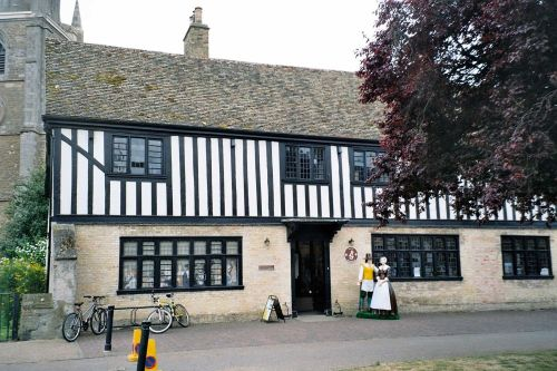 A picture of Oliver Cromwell's House