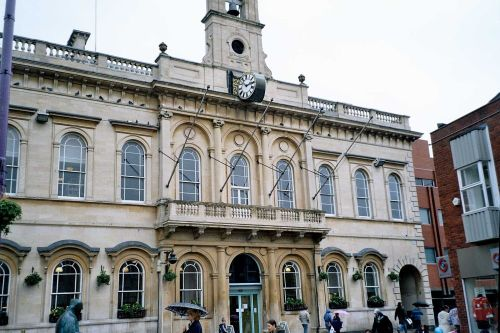 Town Hall in Loughborough, Leicestershire