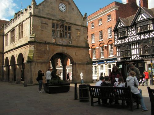 The Old Market Hall, The Square, Shrewsbury