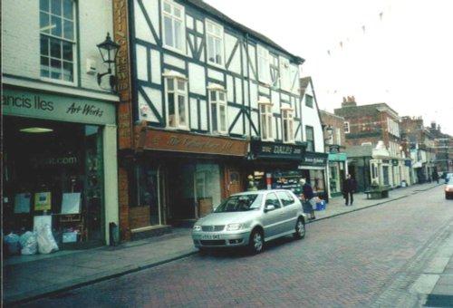 High Street in Rochester, Kent