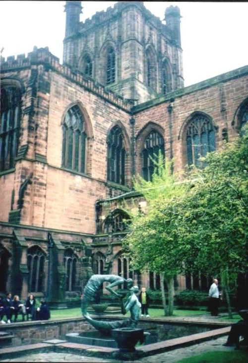 Chester Cathedral in Chester, Cheshire