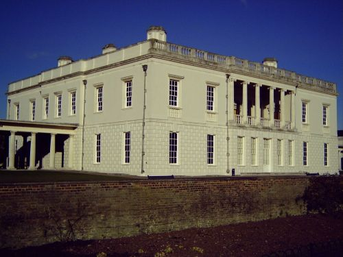 Queen's House, Greenwich. Now part of the National Maritime Museum