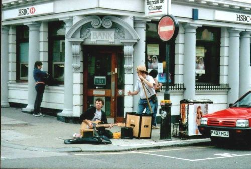 London - Notting Hill, Portobello Road, May 2002