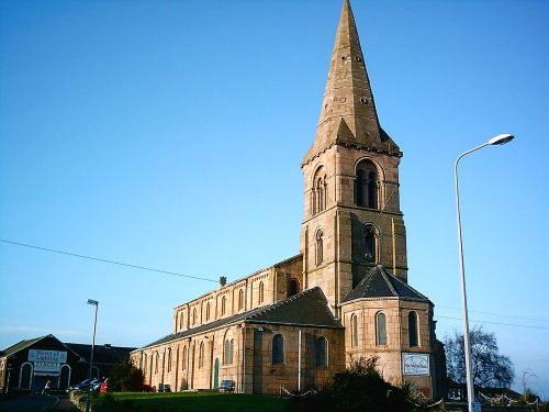 St Thomas's Church. 1830s. Moor Lane, Preston, Lancashire. UK.