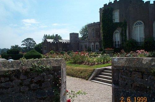 Powderham Castle Gardens July 2005
