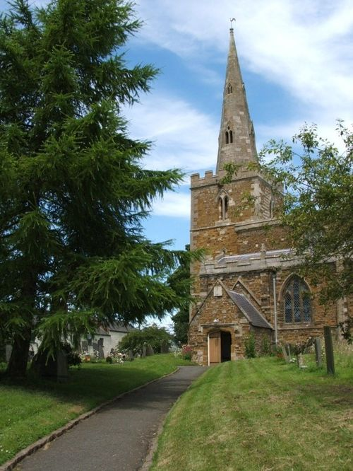 The fine old church at Tilton-on-the-Hill, Leicestershire