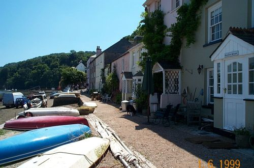 Houses in Dittisham July 2005